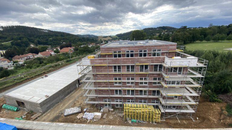 Bytový a parkovací dům Boskovice